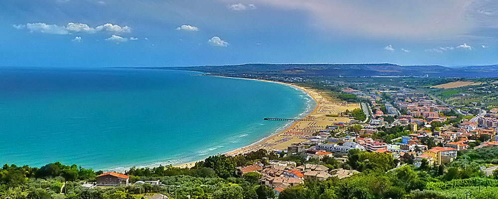 Enchanting gulf of Vasto